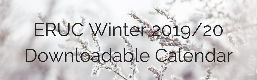 ERUC Winter 2019_20 Calendar